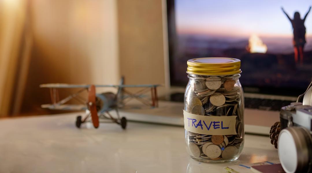 Viagem internacional com economia