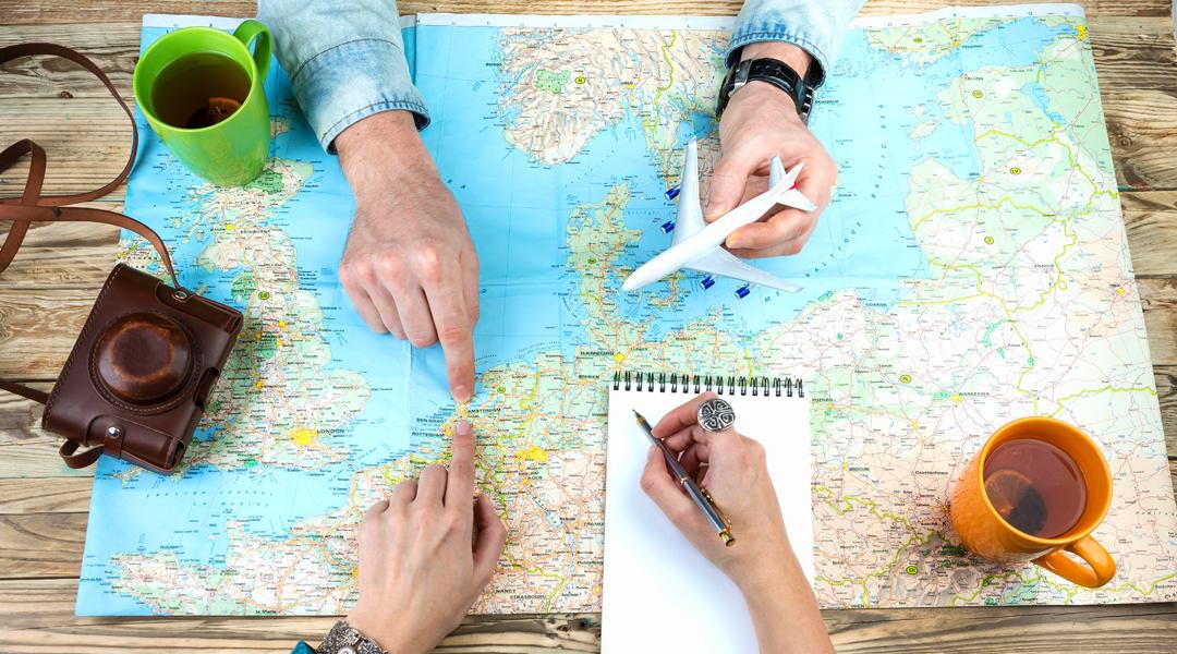 Verifique se o destino escolhido exige seguro viagem