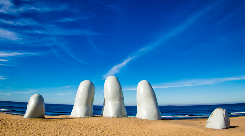 Os Dedos, Punta del Este