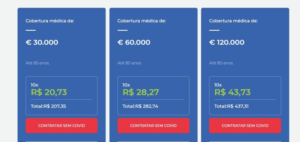 custo do seguro viagem para viajar barato por 7 dias na Europa