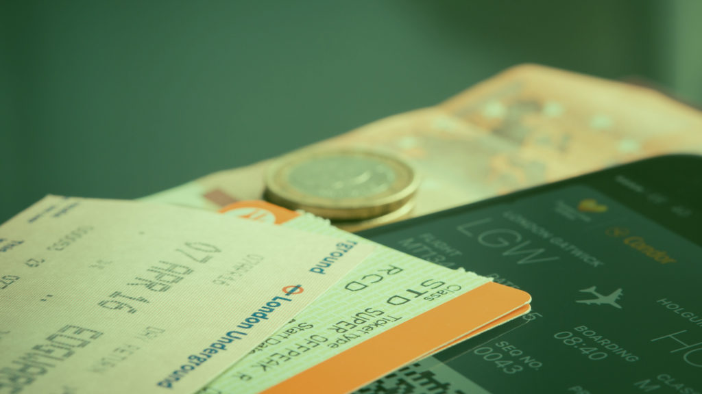 bilhetes de passagens aéreas